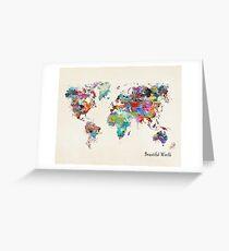 a beautiful world Greeting Card
