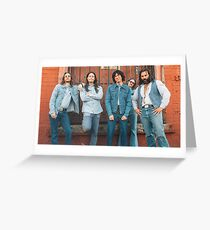 Blue Jean Committee Greeting Card