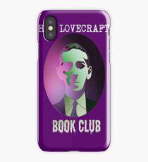 H.P. Lovecraft Book Club iPhone Case/Skin