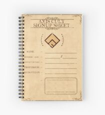 Axis Cult Signup Sheet Spiralblock