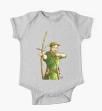 Body de manga corta para bebé Robin Hood: la leyenda
