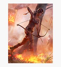 Lámina fotográfica Tomb Raider