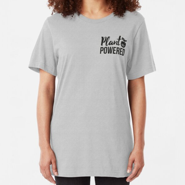 Plant Powered Slim Fit T-Shirt