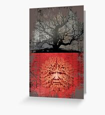 greenman Greeting Card
