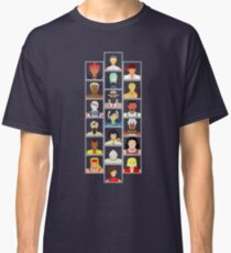 Select Your Character - Street Fighter 3: 3rd Strike Classic T-Shirt