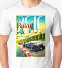 EUROPE: Grand Prix Auto Racing Print T-Shirt