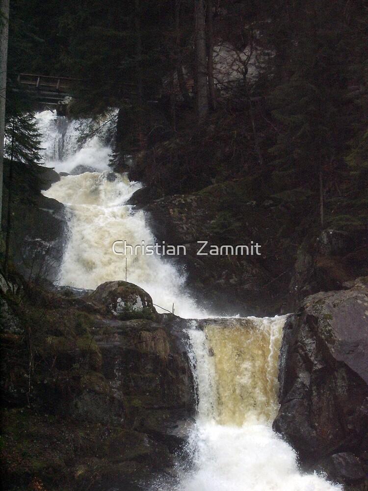 Waterfall by Christian  Zammit