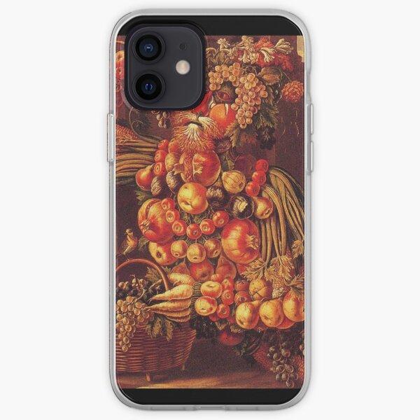 Giuseppe Arcimboldo - Summer Seated iPhone Soft Case