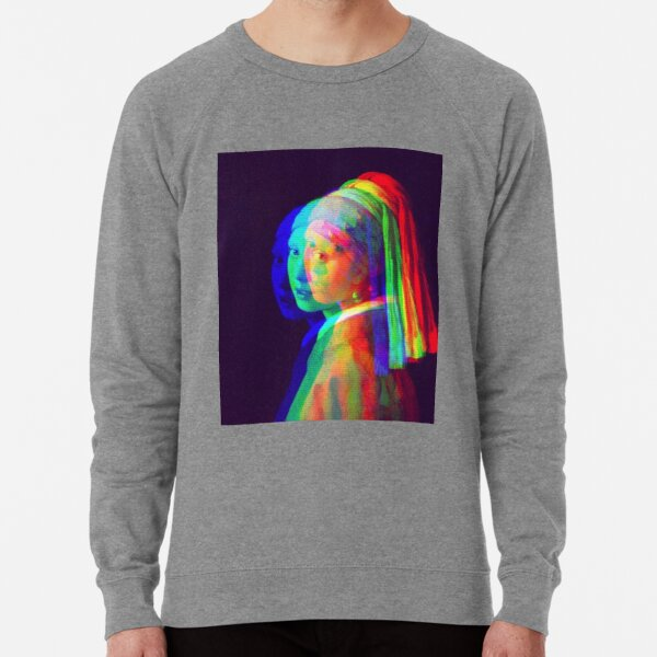 Girl with a Pearl Earring Lightweight Sweatshirt