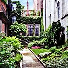 Boston MA - Hidden Garden by Susan Savad