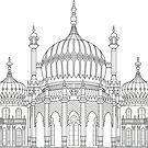 Brighton Pavilion  by ShakeyIllustra