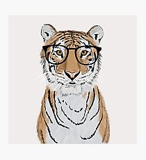 Clever Tiger Photographic Print
