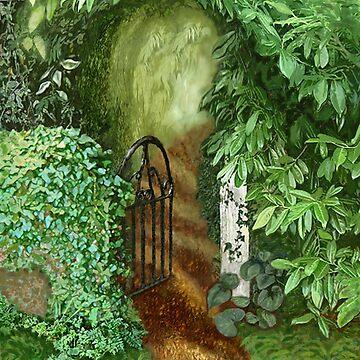 Garden Gate by jboyd