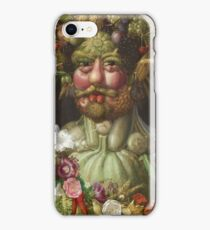 Giuseppe Arcimboldo - Rudolf Ii Of Habsburg As Vertumnus (1590) iPhone Case/Skin