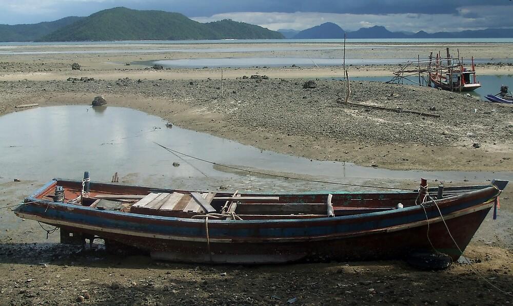 Thai boat by KimmyEvans