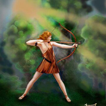 Diana,  the Goddess by jboyd