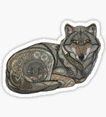 Norse Wolf Sticker