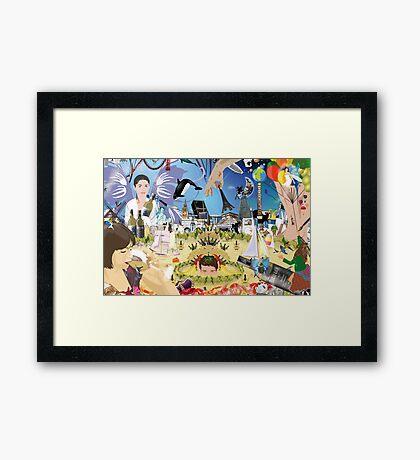 BACCHUS' KINGDOM Framed Print