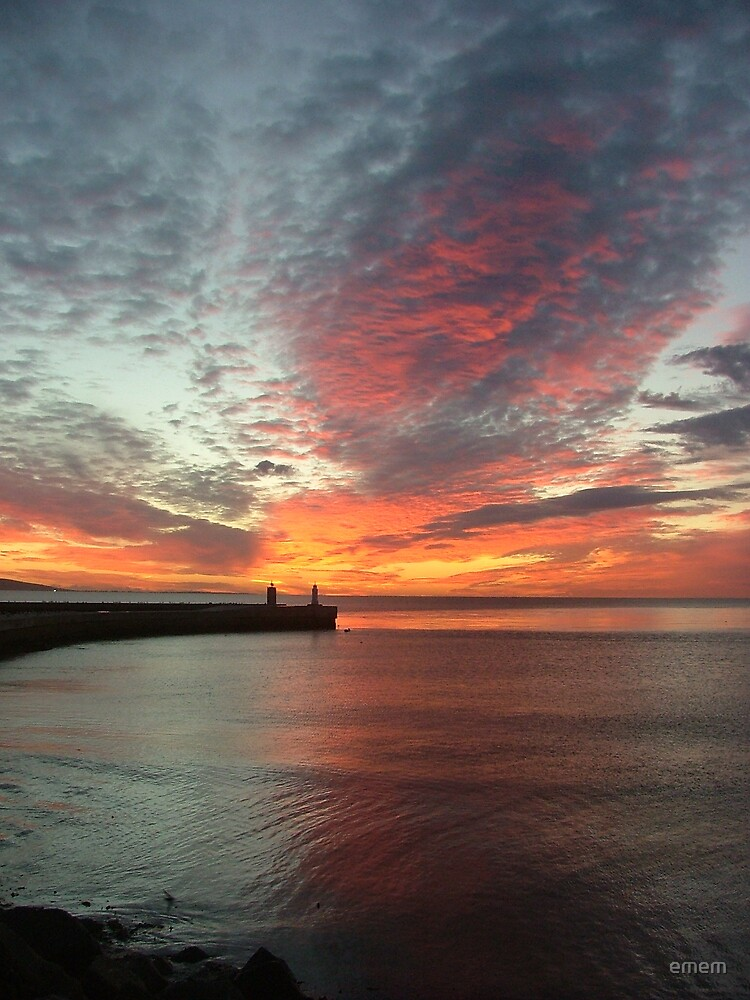 heavenly sunset by emem