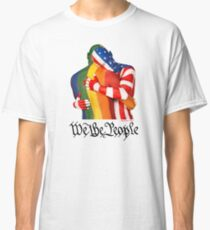 We The People (to print on dark colors) Classic T-Shirt