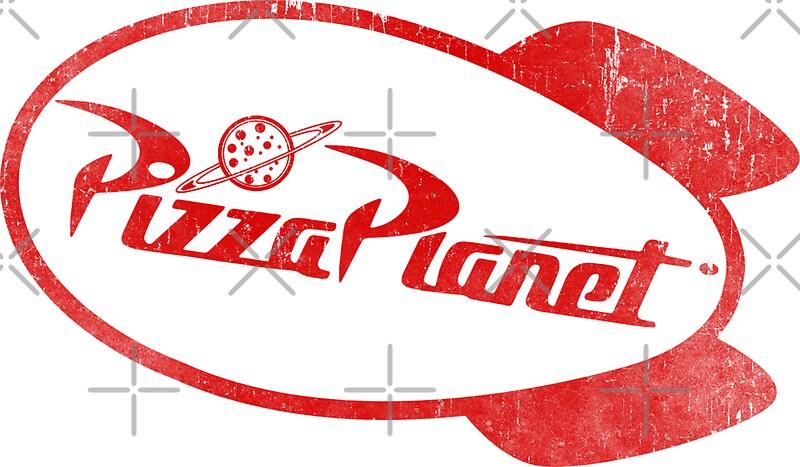 Pizza Planet: Stickers | Redbubble