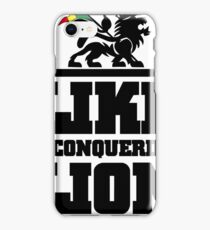 LIKE A CONQUERING LION iPhone Case/Skin