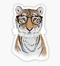 Clever Tiger Sticker