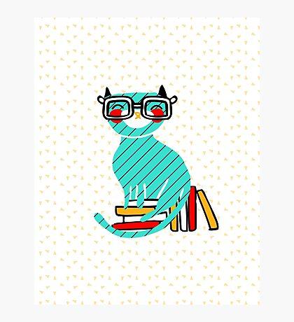 Smart Kitty Photographic Print