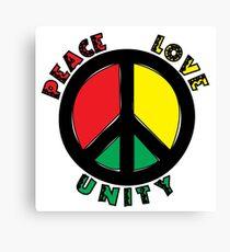 Peace Love UNITY Canvas Print