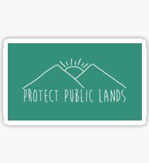 Protect Public Lands Sticker