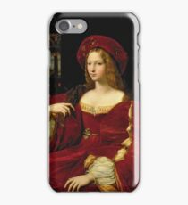 Giulio Romano - Portrait Of Jeanne Of Aragon 1500 -1577 .  Wife Of Ascannio Colonna, Viceroy Of Naples iPhone Case/Skin