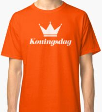 Koningsdag Crown 2017 - King's Day Netherlands Celebration Nederland Classic T-Shirt