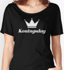 Koningsdag Crown 2017 - King's Day Netherlands Celebration Nederland Women's Relaxed Fit T-Shirt