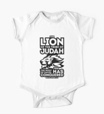 The Lion of the tribe of Judah, the Root of David, has triumphed. Kids Clothes