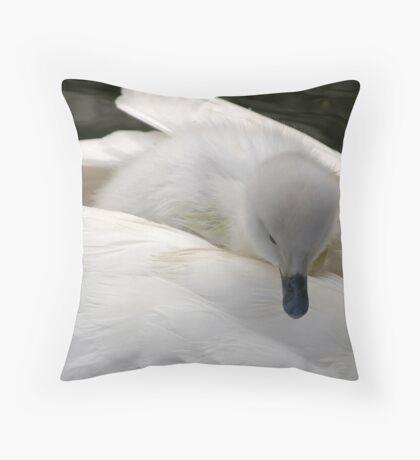 Deliberating Throw Pillow