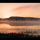 Harris at Sunrise Panoramic Display.  by Jerry  Mumma