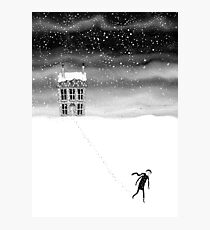Inside the Snow Globe  Photographic Print