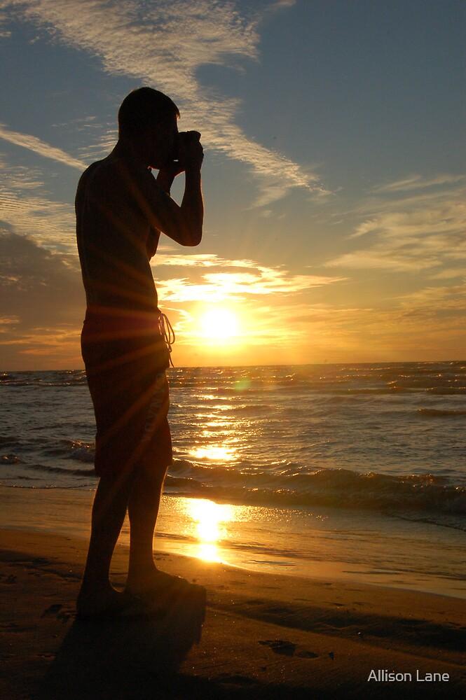 Photographer Silhouette by Allison Lane