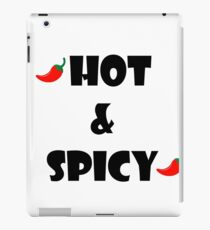 Hot and Spicy flavor iPad Case/Skin