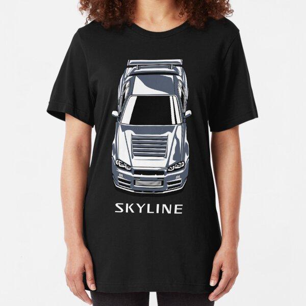 Nissan Skyline GT-R R34 Slim Fit T-Shirt