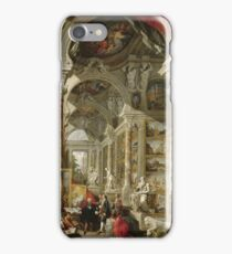 Giovanni Paolo Panini - Gallery With Views Of Modern Rome iPhone Case/Skin