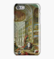 Giovanni Paolo Panini - Gallery Of Views Of Ancient Rome iPhone Case/Skin