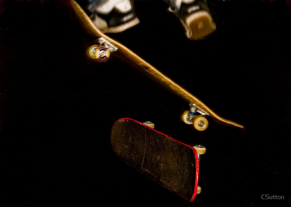 Skate board by CSutton