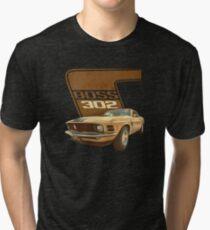 Boss 302 Mustang Tri-blend T-Shirt
