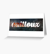 Things into Things - Cailloux Special Print Greeting Card