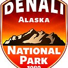 DENALI NATIONAL PARK ALASKA MOUNTAINS HIKE HIKING CAMP CAMPING 4 by MyHandmadeSigns