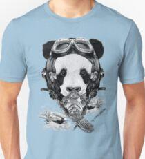 Oso Panda segunda guerra mundial kamikaze japones Unisex T-Shirt