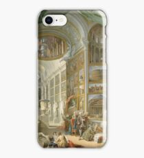 Giovanni Paolo Panini - Ancient Rome iPhone Case/Skin