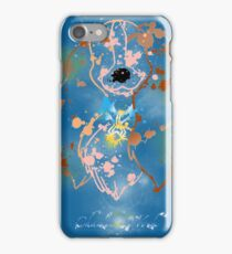 Paining lady iPhone Case/Skin