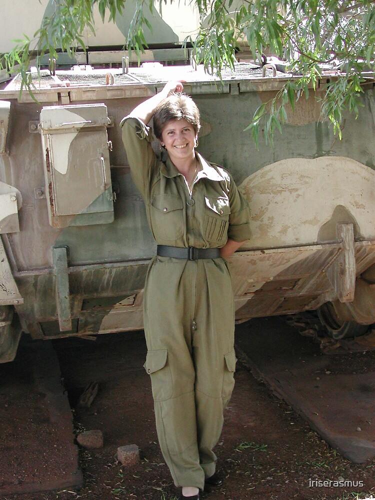 Grietjie (Elephant Tank) & Me. by iriserasmus